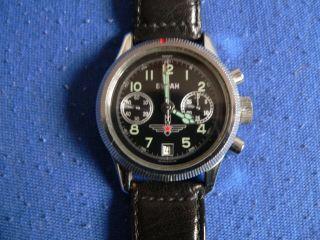Poljot Buran Handaufzug Chronograph Bild