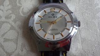 Olma Handaufzug,  Uhrwerk Kal.  Fhf 96 Bild
