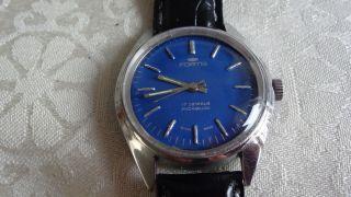 Fortis Handaufzug,  Uhrwerkskal.  Fhf 96 Bild