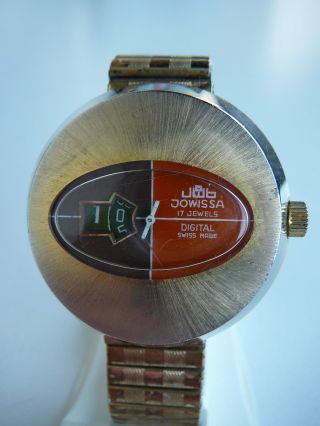 Jowissa Digital - Scheibenuhr - Springende Stunde Bild