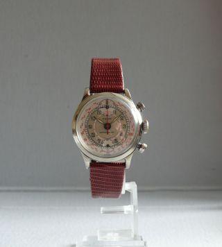 Pierce Cronograph Mechanisch Ca.  1949 Bild