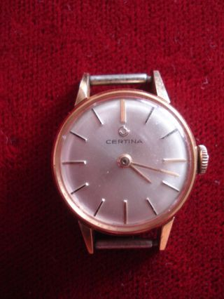 Damenrmbanduhr,  Certina,  Handaufzug,  Cal 13 - 21 Bild