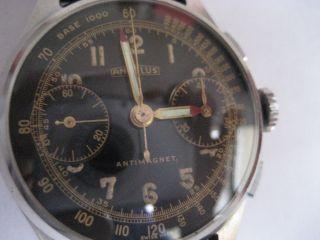 Hovhwertiger Angelus Chronograph Von 1950 - Sammlerstück Bild
