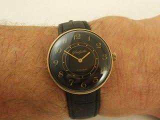GlashÜtte Gub Handaufzug Herren Armbanduhr Vintage Bild
