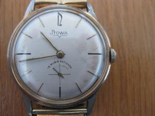 Stowa Herren Damen Uhr Mechanisch Handaufzug Bild