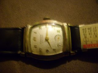 Gruen - Armbanduhr Handaufzug FÜr Herrn Bild