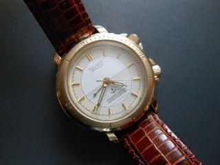 Poljot 2612 Alarm Mechanisches Laufwerk Uhr Klassisch Elegant Bild