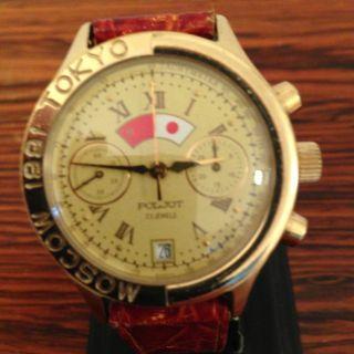 Poljot - Chronograph Moscau - Tokyo Limited 10000 Nr872 Sammler Uhr Bild