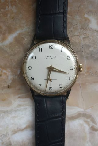 Junghans Handaufzug Armbanduhr Bild