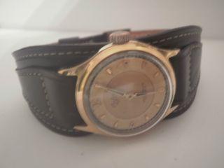 Rar Alte Mechanische Bifora Herrenuhr 17 Rubis Neues Armband Bild