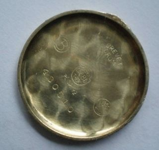 Alte Damenarmbanduhr Zentra 585er Gold Mit Rolled Goldplate Band Bild