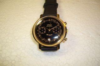 PrÄtina Chronograph Herren Armbanduhr Mit Poljot 3133 - Selten. Bild