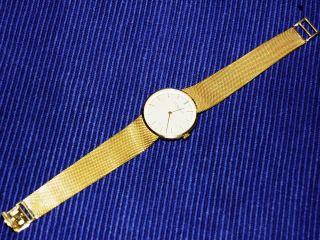 Chopard Herren - Armbanduhr Aus Ca.  1960,  750er Gelbgold,  Vom Juwelier überholt Bild