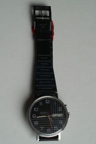 Slava Russische Armbanduhr Verschraubter Boden Und Mit Datum,  Ungetragen Bild