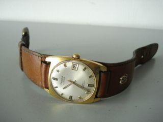 Dugena Calendar 444 Datum Vintage Hau.  Handaufzug 1181 Um1960 Ansehen LÄuft Bild