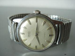 Gruen Watch&co Swiss N510ss Vintage Hau.  Handaufzug Um1950 Ansehen LÄuft Bild
