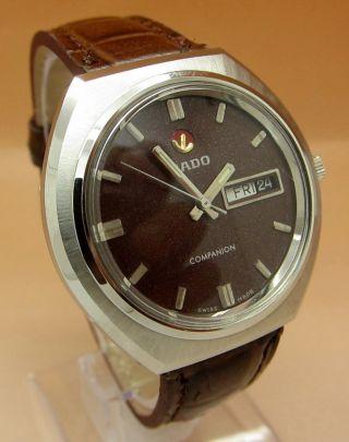 Rado Companion Glasboden Mechanische Uhr 21 Jewels Datum & Tag Lumi Zeiger Bild