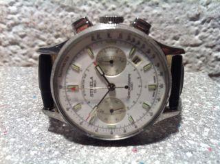 Russische Chronograph Armband Uhr Strela Bild