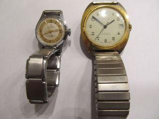 Armbanduhr Uhr Uhren Anker 100 17 Rubis Zentra 17 Rubis Handaufzug An Bastler Bild