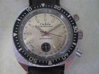 Ruhla Stopper M 24 Ddr Hau Handaufzug Bild
