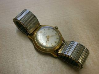 Junghans Trilastic 17 Jewels Mechanisch Handaufzug Flexband Antik Selten Sammler Bild
