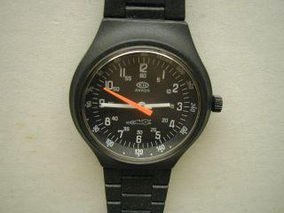 Anker - Handaufzug - Militäruhr - Racing Sport Uhr - Armbanduhr - 39 Mm Bild