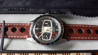 Yema Rallye Chronograph Aus Den 70 - Jahre Bild