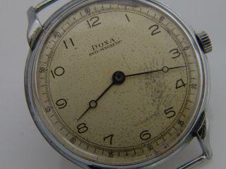 Doxa Uhr Handaufzug Vintage Sammleruhr Anti - Magnetic Bild