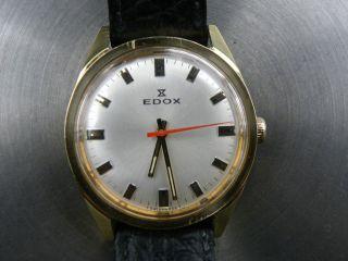 Edox Handaufzug Swiss Made Bild