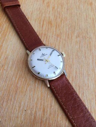 Dugena 444 Dresswatch Gold Vintage Handaufzug Uhr Hau Bild