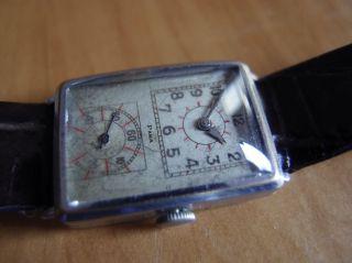 Rare Vintage Para Doctors Watch Mechanische Handaufzug Uhr Art Deco Age Bild