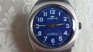 Fortis Handaufzug,  Uhrwerk Fhf Kal.  969 N Bild