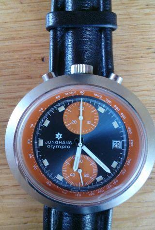 Junghans Olympic Bullhead Chronograph Bild