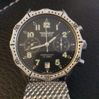 Poljot Fliegerchronograph Caliber 3133 Bild