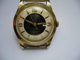 Alte Anker 21 Jewels Handaufzug Sammler Selten Vintage Herrenuhr Bild