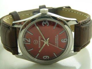 Rodania Absolute Rarität Armbanduhr Handaufzug Mechanisch Vintage Sammleruhr Bild