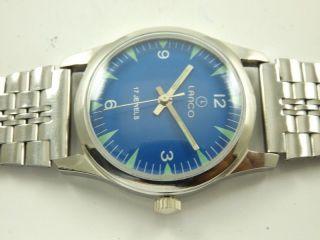 Lanco Absolute Rarität Armbanduhr Handaufzug Mechanisch Vintage Sammleruhr Bild