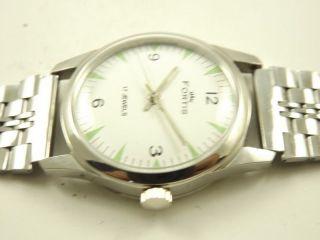 Fortis Absolute Rarität Armbanduhr Handaufzug Mechanisch Vintage Sammleruhr Bild