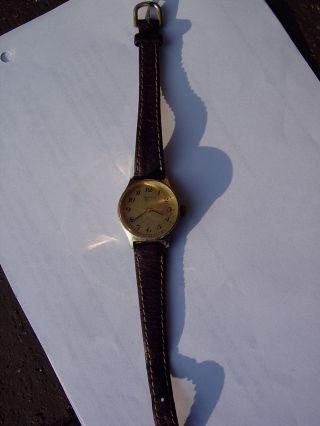 Damen Armbanduhr Zentra 2000 Mit Lederarmband,  1950er Od.  1960er Jahre Bild