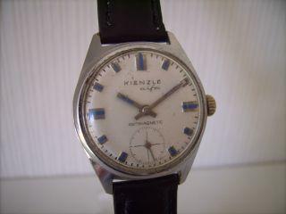 Kienzle Alfa Hau 70er Jahre Dress Watch Kal.  051d53 Mit Kleiner Sekunde Bild