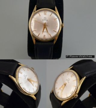 Titus Handaufzugsuhr Herren Armbanduhr Bild