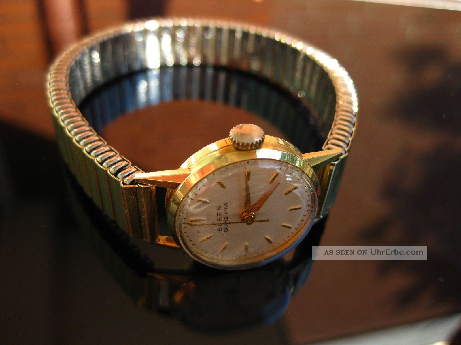 Buren Damenuhr Handaufzug Im Gepflegm Armbanduhren Bild
