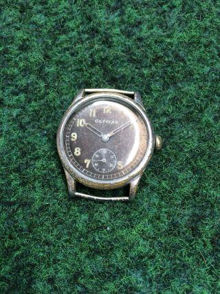 Glycine Dienstuhr MilitÄr Uhr D43843h Vintage 1920 - 30 Watch As1130 Bild