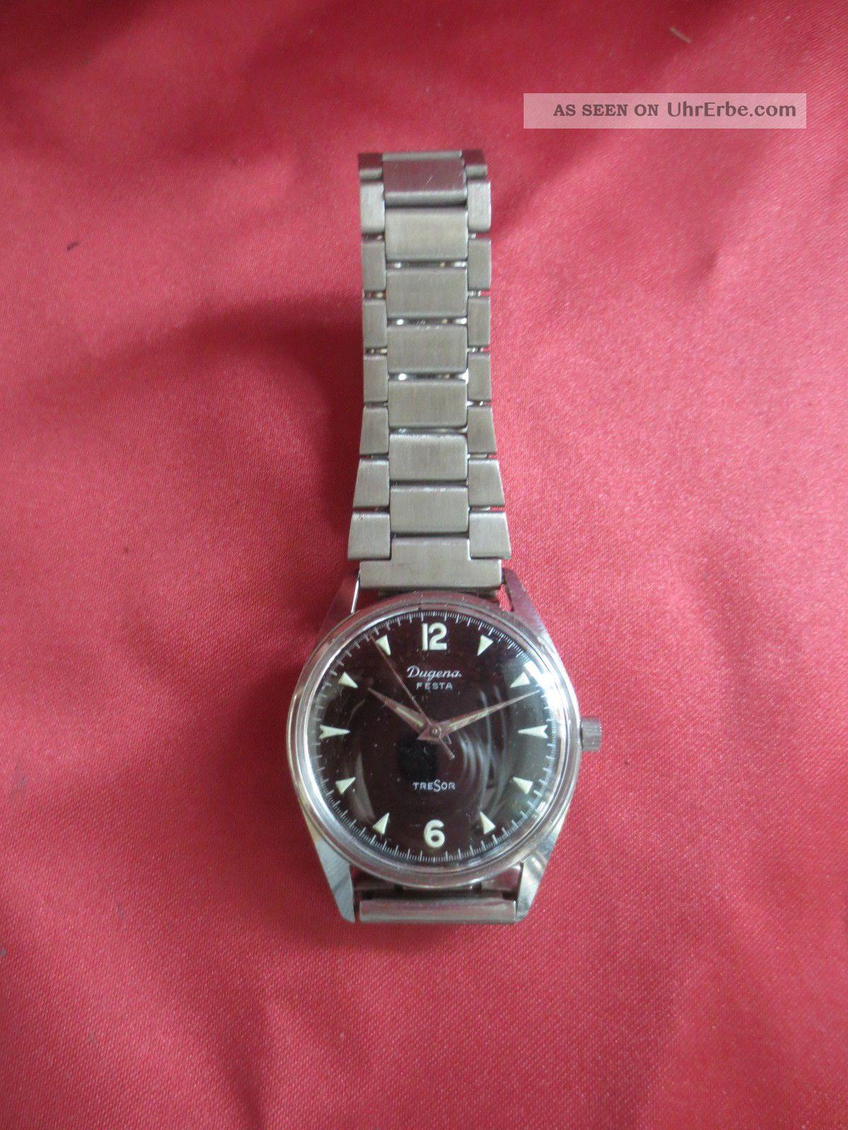 Dugena Festa Tresor Armbanduhr - Handaufzug Mechnaisch Armbanduhren Bild