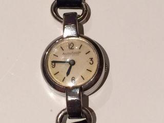 Jaeger - Lecoultre Fabriqué En Suisse Armbanduhr Vintage Handaufzug Stahl Bild