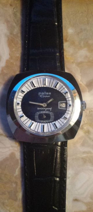 Armbanduhr Pallas Eppo Handaufzug Bild