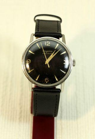 Herren Armbanduhr Dugena Precision Handaufzug Swiss Made Bild