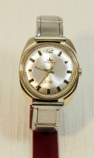 Herren Armbanduhr Dugena Handaufzug Bild