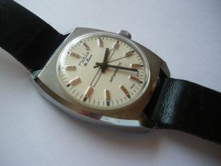 Ruhla De Luxe Armband Uhr - Herren Uhr - Made In Gdr - Funktioniert - Vintage Bild