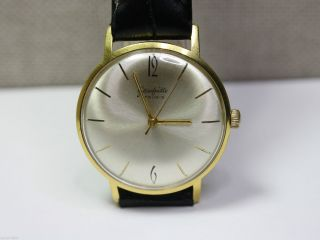 Gub Glashütte Schöne Herrenuhr (men ' S Wrist Watch).  Kaliber 70.  1 Bild